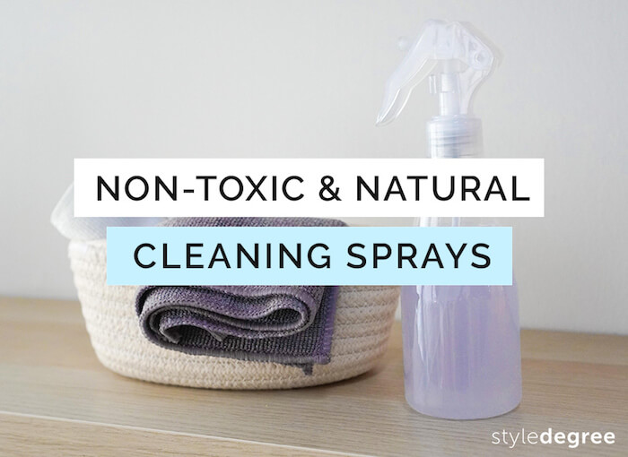 natural cleaning sprays for home, non-toxic cleaning sprays singapore homes style degree sg