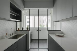 Install Glass Partitions, Service Yard, Brighten Home, Style Degree, Singapore, SG, StyleMag