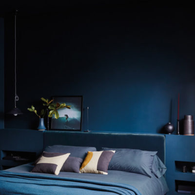 Navy Blue Bedroom, Blue Bedding & Sheets, Bedroom Ideas, Style Degree, Singapore, SG, StyleMag
