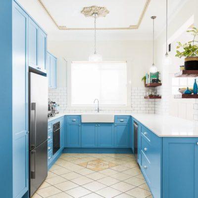 Sky Blue Kitchen, Blue Kitchen Ideas, Style Degree, Singapore, SG, StyleMagStyle Degree, Singapore, SG, StyleMag