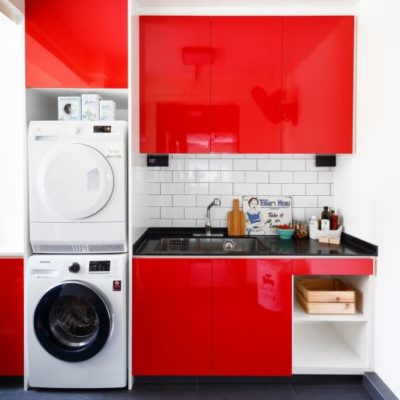 Install Cabinets & Sink, Service Yard Laundry Ideas, Maximise Space, Style Degree, Singapore, SG, StyleMag