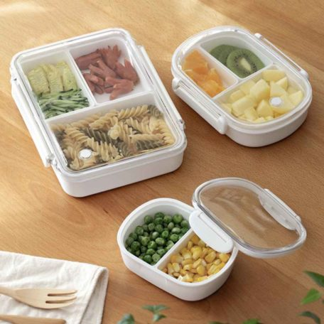 Everyday Bento Lunch Box (With Dividers) Food Storage Container Style Degree Sg Singapore