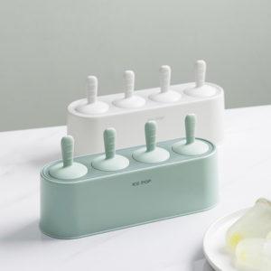 Pastel Silicone Popsicle Maker Mold Ice Tray Holder Freezer Fridge Ice Cream Style Degree Sg Singapore