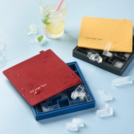 Tetris Ice Cube Tray (With Cover) Maker Freezer Fridge Silicone Style Degree Sg Singapore