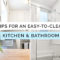 How To Design An Easy To Clean Kitchen & Bathroom, Easy to clean low maintenance Interior Design Singapore, Interior Designing Singapore, Style Degree, SG, StyleMag