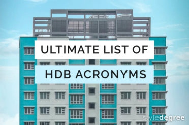 The Ultimate List Of HDB Acronyms For Singapore Homeowners