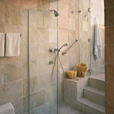 Use Large Stone Tiles, Bathroom, Easy-To-Clean, Style Degree, Singapore, SG, StyleMag
