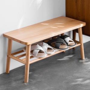 The Scandinavian Entryway Shoe Rack Bench Storage Wear Shoes Front Door Style Degree Sg Singpore