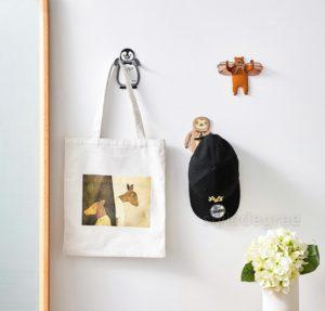 Kids Animals Wall Hook Baby Nursery Bedroom Hanging Adhesive Style Degree Sg Singapore