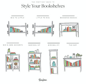 book arrangments, arranging your books, how to arrange my bookshelf, Style Degree, Singapore, SG, StyleMag.