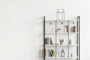 rule of thirds, how to decorate your bookshelves, how to style your bookshelf, Style Degree, Singapore, SG, StyleMag