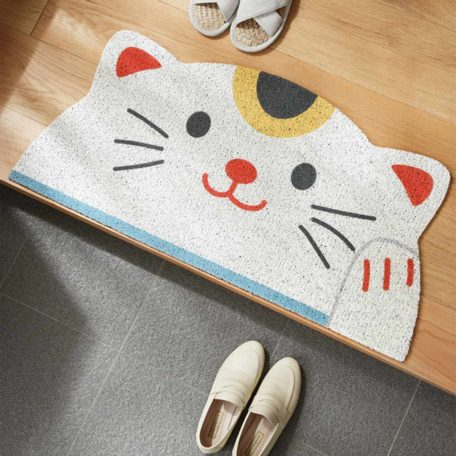 Auspicious Kittens Entryway Door Mat Housewarming Chinese New Year CNY Style Degree Sg Singapore