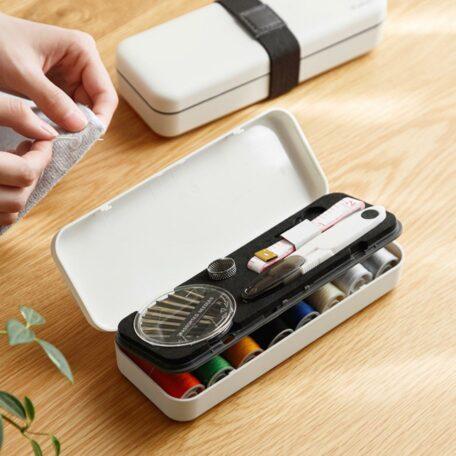 Needle Thread Sewing Kit Set With Box Organizer Holder Style Degree Sg Singapore