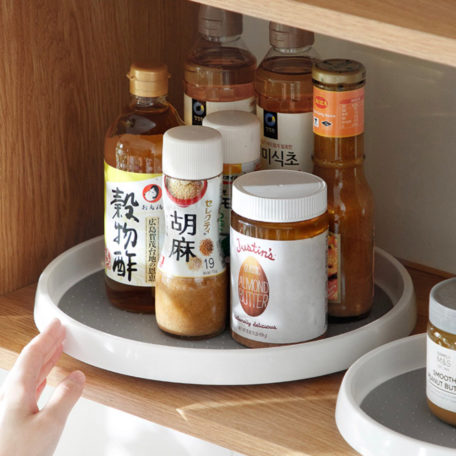 Lazy Susan Turntable Rotating table Singapore sg kitchen organization, organisation, herbs and spices holder condiment holder, style degree