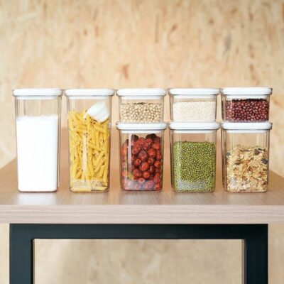 Twist & Turn Airtight Container Food Storage Boxes Holder Kitchen Pantry Style Degree Sg Singapore