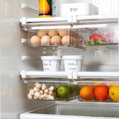 Klear Fridge Storage Sliding Drawers Food Storage Container Box Organizer Style Degree Sg Singapore