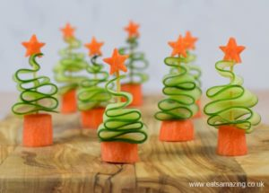 Cucumber Christmas trees, easy DIY Christmas treats, no bake Christmas treats, healthy Christmas treats for kids, Style Degree, Singapore, SG, StyleMag.