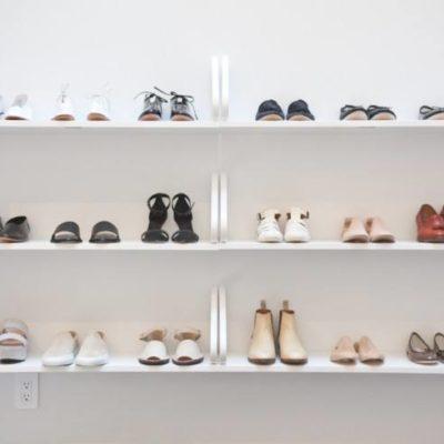 Wall shelves to store shoes, shoes wall shelf, wall shoes shelf, space-saving ideas, small HDB room ideas,