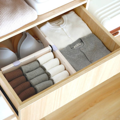 Adjustable Drawer Divider Organizer Kitchen Utensils Holder Storage Style Degree Sg Singapore