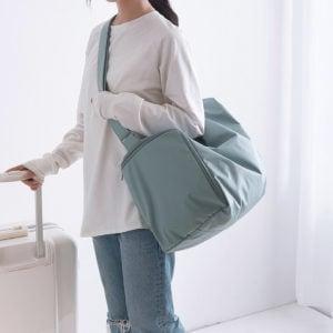 Staycation Travel Duffle Shoulder Bag Shoe Bag Style Degree Sg Singapore