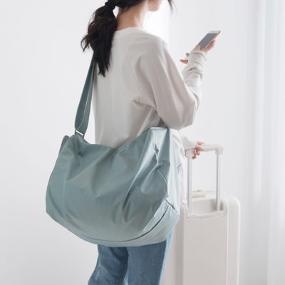 Staycation Travel Duffle Shoulder Bag Shoe Bag Style Degree Sg Singapore
