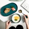 Nordic Bowl & Plate Platter Set Dining Dinnerware Kitchen Style Degree Sg Singapore