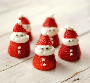 Little Strawberry Santa treat, Kid-friendly Christmas recipes, easy Christmas treats for kids, Style Degree, Singapore, SG, StyleMag.