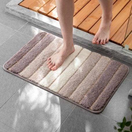 Calmly Absorbent Anti-slip Floor Bathroom Bath Mat Living Room Style Degree Sg Singapore