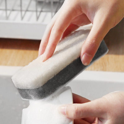 Double Sided Kitchen Dishwashing Sponge Kitchen Sponge Style Degree Sg Singapore