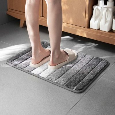 Calmly Absorbent Anti-slip Floor Bathroom Bath Mat Living Room Style Degree Sg Singapore