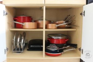 Kitchen cabinet storage ideas, How to organize kitchen cabinets in small kitchen, dinnerware organization, where to put things in kitchen cabinets, Style Degree, Singapore, SG, StyleMag.