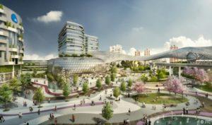 Jurong Innovation District, Jurong Lake District, JID masterplan, JID map, JID artist's impression, Style Degree, Singapore, SG, StyleMag.