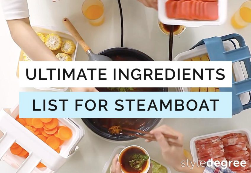 The Ultimate Steamboat Ingredients List For A Fuss-Free Reunion Dinner