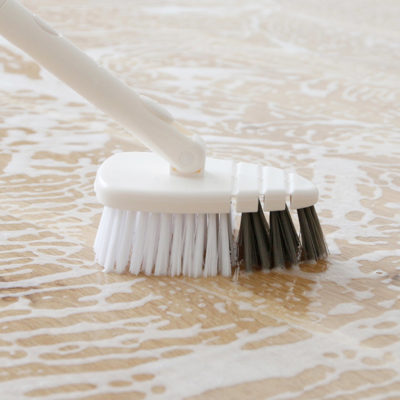 Pristine 180° Bathroom Floor Scrub Brush Cleaning Home Tools Style Degree Sg Singapore