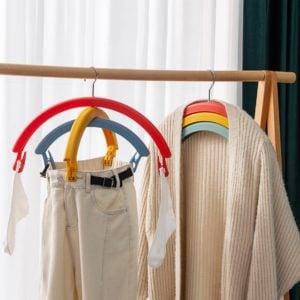 Rainbow Laundry Drying Hanger Socks Clips Clothes Peg Lingerie Undergarment Style Degree Sg Singapore