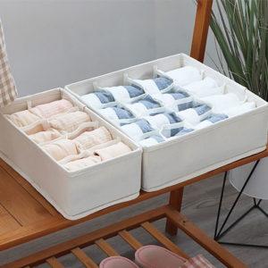 Canvas Lingerie & Undergarment Closet Organizer