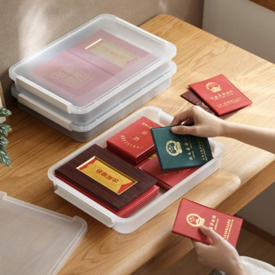 Essential Documents & Passport A4 Storage Box Safe Organizer Certificate Container Style Degree Sg Singapore