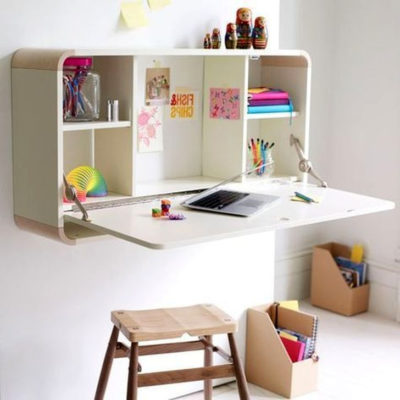 Foldable wall-mounted desk, space-saving furniture, space-saving ideas for small homes, work-from-home desk ideas, Style Degree, Singapore, SG, StyleMag.