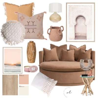 Warm earthy tones mood board, earthy colour interior design trend 2021, home decor colour trend 2021, natural colour trends, Style Degree, Singapore, SG, StyleMag.