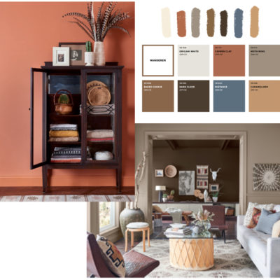 Warm tones mood board, warm colour trend 2021, interior design trend 2021, home decor colour trend, Style Degree, Singapore, SG, StyleMag.