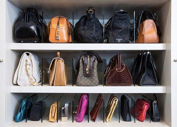 5 Ingenious Handbag Storage & Organization Ideas