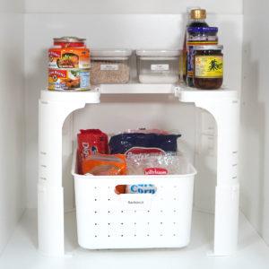 Customisable Under Sink Storage Organizer Kitchen Bathroom Basket Storage Sliding Box Style Degree Sg Singapore