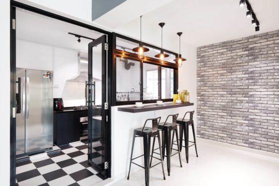 9 Creative Open Concept Kitchen Ideas For HDB BTO