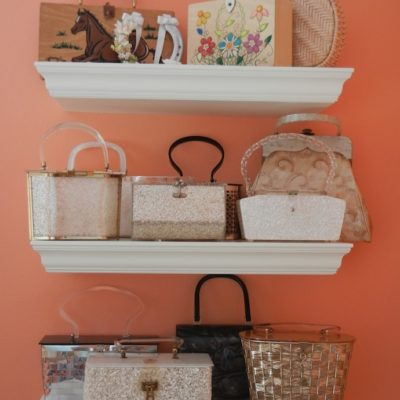 Display handbags on wall shelves, bag organization ideas, how to store bags, diy handbag storage ideas, Style Degree, Singapore, SG, StyleMag.