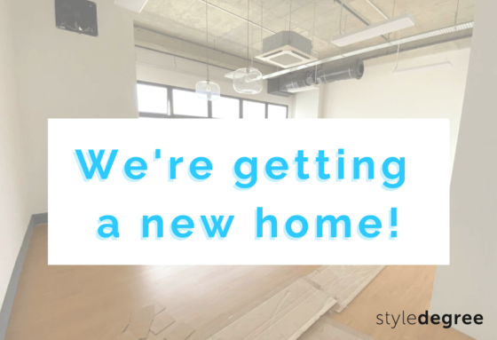 UPDATE: We're Moving To A Bigger, Better Space!