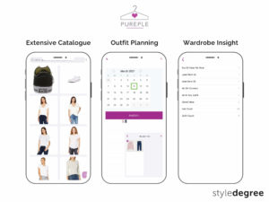 Pureple outfit planner, virtual closet features, closet organizer app, Style Degree, Singapore, SG, StyleMag.