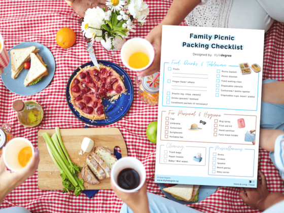 What To Pack For A Perfect Picnic With Your Family (+ Free Printable Checklist)