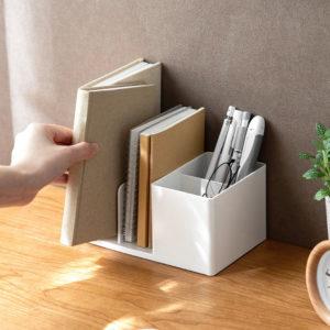 Desk Stationery Organizer Book Divider Work Study Table Shelf Style Degree Sg Singapore