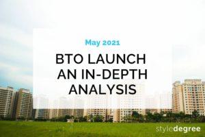 May 2021 HDB BTO Sales Launch Analysis, May 2021 BTO Woodlands, Tengah May 2021 BTO, BTO Bukit Merah May 2021, 2021 BTO Geylang, Style Degree, Singapore, SG, StyleMag.