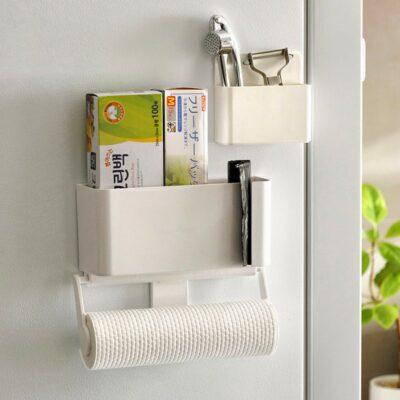 Magnetic Kitchen Towel Fridge Holder Holders Tissue Organizer Organiser Style Degree sg Singapore